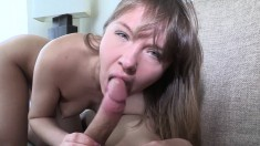 Nasty young eye candy spreads her legs wanting to have her cunt licked