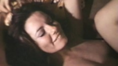 John Holmes thrusts his impressive manhood into a slut's bunghole