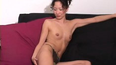 Tiffany takes off her clothes and spreads wide to show her cunt