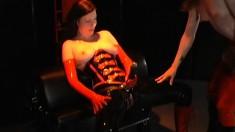 Horny Mistress Enjoys Punishing An Innocent Young Piece Of Ass