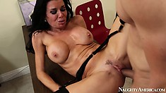 Busty Veronica Avluv cums from being fucked in several positions