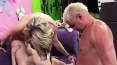 Missy Scarlet Shares A Long Prick And A Warm Load With Ash Hollywood
