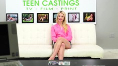 Naughty Blonde Girl Aubrey Gold Fulfills Her Need For Wild Sex Action