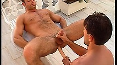 On vacation, Renato Bellagio and Luciano Endino indulge in hot gay action