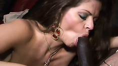 June Summers trims her pussy hair into a heart for her black boyfriend