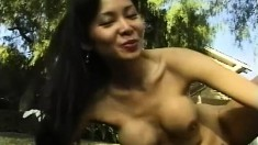Maya Chung enjoys getting naked and posing in front of the camera