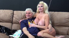 Stacked milf in black boots Taylor Wane pleases herself with sex toys