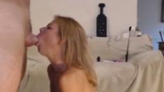 Amateur MILF Blowjob From Home