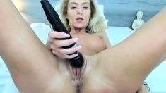 Babe hottie Szilvia Lauren naughty solo masturbation