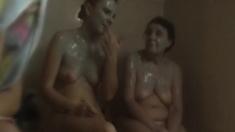 Hidden Cam After Shower Amateur
