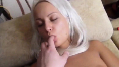 Hot Russian Couple Play With Vibrator!