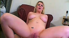 Nasty whore has every hole on her body torn apart in a rough scene